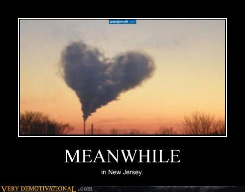 MEANWHILE in New Jersey.
