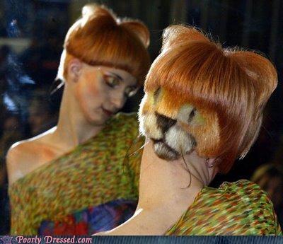 cat eww hair model scary - 4053779968