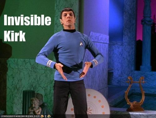 celeb invisible sci fi Spock Star Trek - 4054527488