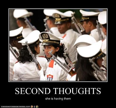 demotivational funny lady lolz military soldier