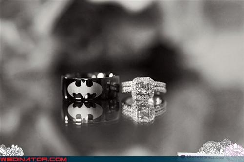 awesome-grooms-band awesome wedding band batman wedding band batman wedding ring Bling bride cool wedding ring fashion is my passion funny wedding photos groom surprise themed wedding ring unique wedding ring were-in-love wedding band Wedding Themes - 4055289600