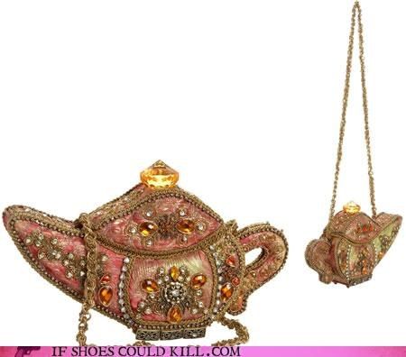 Bag Beaded Gaudy Genie Lamp Purse Ugly Wishes 4055355136