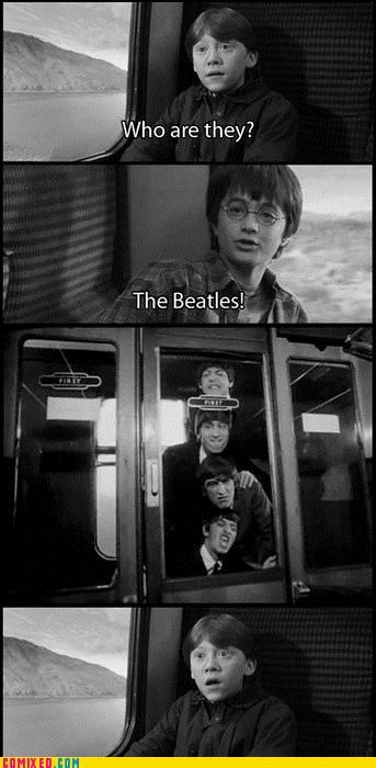 classic From the Movies Harry Potter kids Music rock ron the Beatles - 4055844096