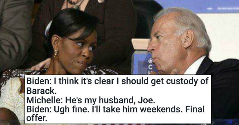 Amazing Biden and Obama Memes in Honor of Joe Biden's Birthday