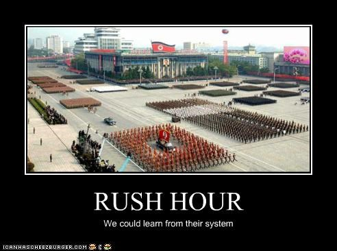 RUSH HOUR We could learn from their system