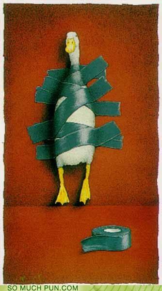 duck duct tape punishment threat - 4057848576