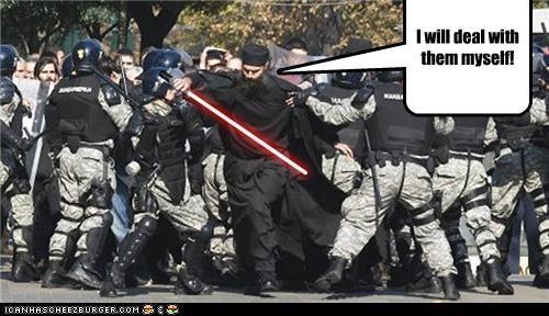 fake funny Hall of Fame lolz police Protest religion shoop star wars