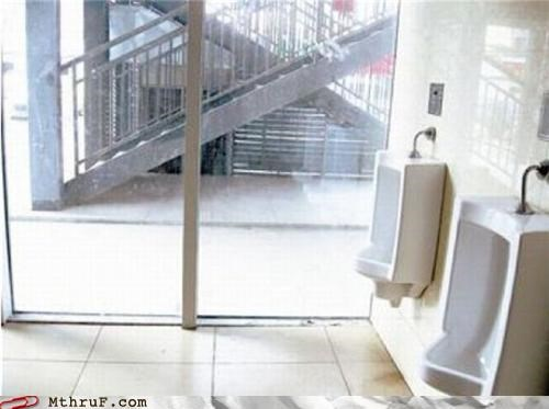 bad architecture bathroom privacy sliding doors - 4058574080