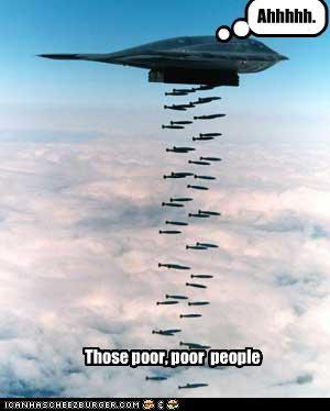 Those poor, poor people Ahhhhh.