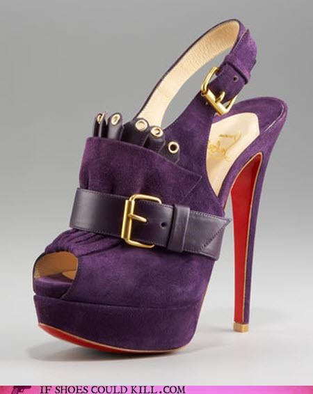 buckle,Fringe,High Fashion,louboutin,pilgrim,platform,puritan,purple,suede,thanksgiving