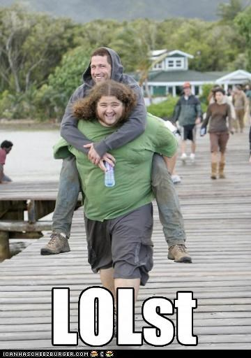 Jorge Garcia,lol,lolz,lost,matthew fox,TV