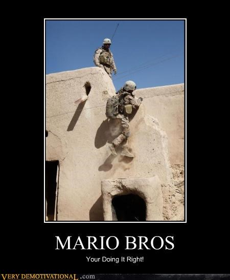 MARIO BROS Your Doing It Right!
