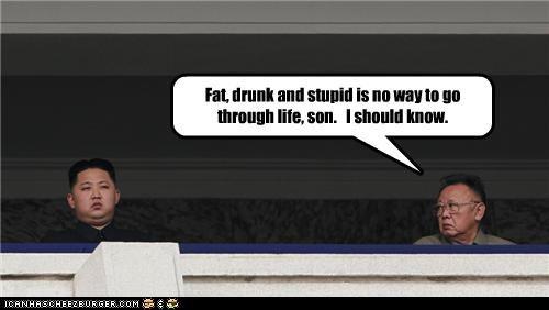 advice funny Kim Jong-Il kim jong-un lolz North Korea pop culture - 4059833856
