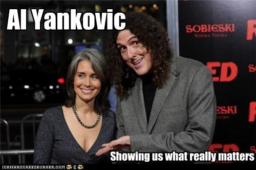 Al Yankovic Showing us what really matters