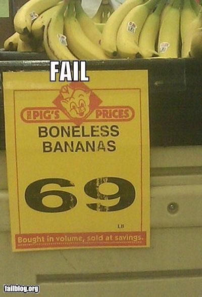 bananas classic description failboat fruit g rated sign yellow - 4061925888