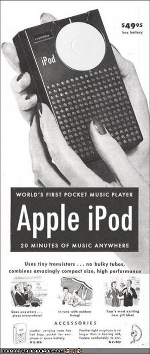 Ad fake funny ipod Music technology