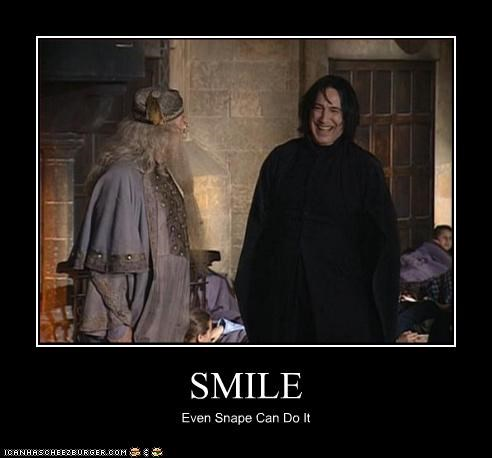 SMILE Even Snape Can Do It