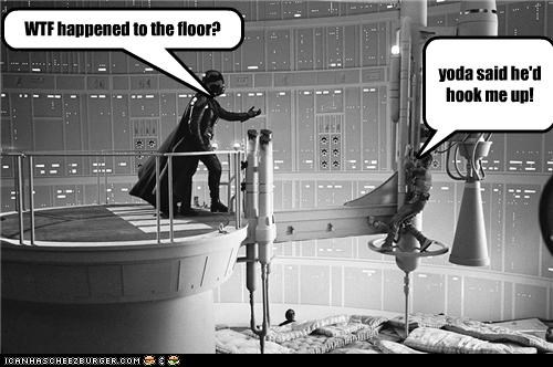 WTF happened to the floor? yoda said he'd hook me up!