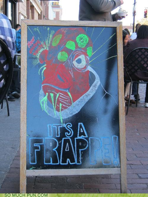 admiral ackbar catchphrase frappe frappuccino its a trap peets rebel alliance return of the jedi star wars Starbucks tullys - 4063667968