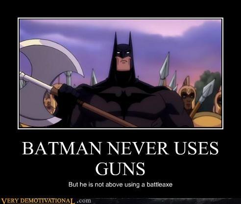 axe batman cartoons Pure Awesome rules - 4064026112