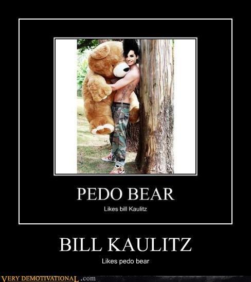 Bill Kaulitz,impossible,love,pedobear,snuggles,Tokio Hotel,wtf