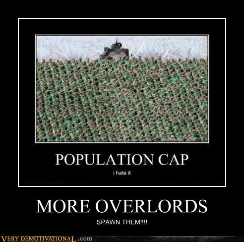 population cap overlords video games funny - 4064742144