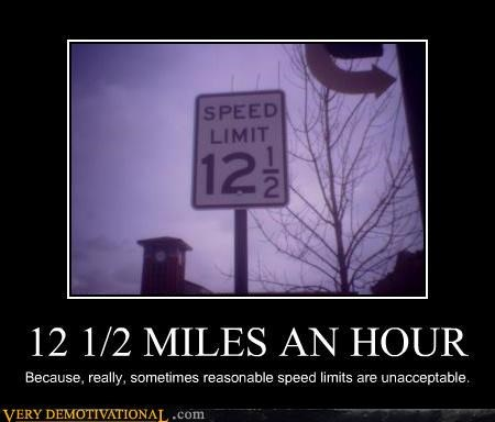 impossible rules signs speed limit - 4064957184