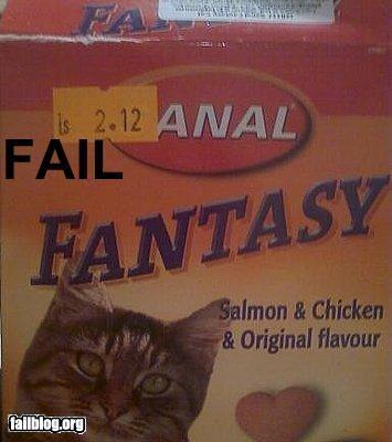 cat food failboat innuendo placement sticker - 4064963072