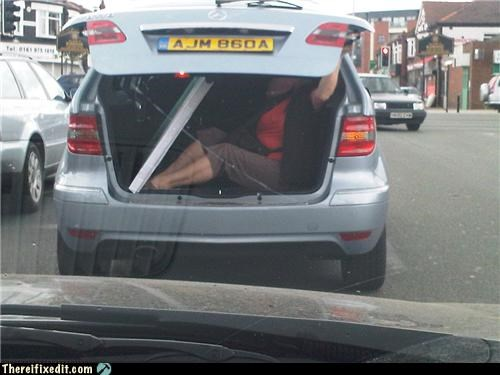 boot car holding it up Kludge trunk - 4065057024