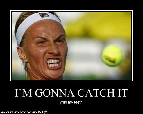 ball im-gonna-derp-it scowl Sportderps sports teeth tennis - 4065626880