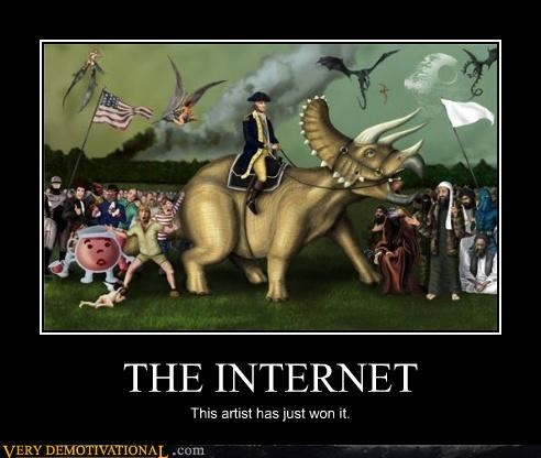 awesome,dragons,george washington,kool-aid guy,Pure Awesome,robo cop,the internet,triceratops,usa