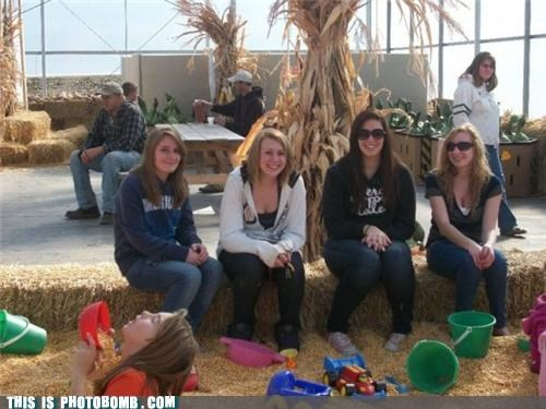 farmers,Good Times,hay,outkast,photobomb,puns