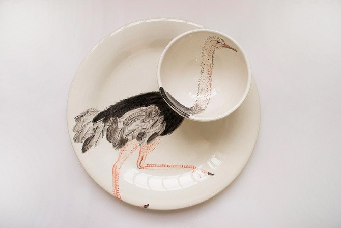 tableware design inspired by animals