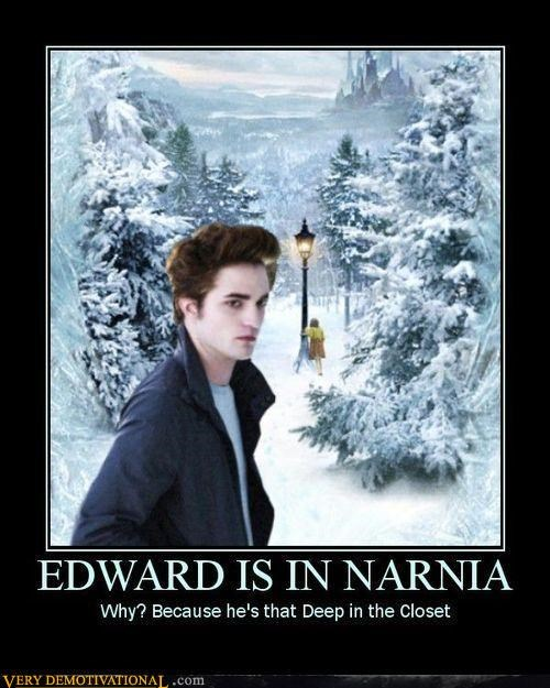 edward cullen,fantasy,gay jokes,jk,Mean People,motivated photos,twilight
