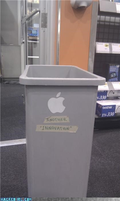 apple,garbage,hacked