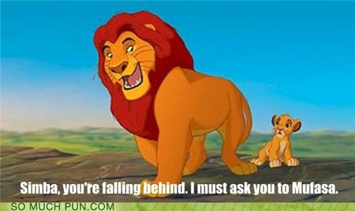 falling behind hakuna matata lazy lion moving mufasa pride simba the lion king