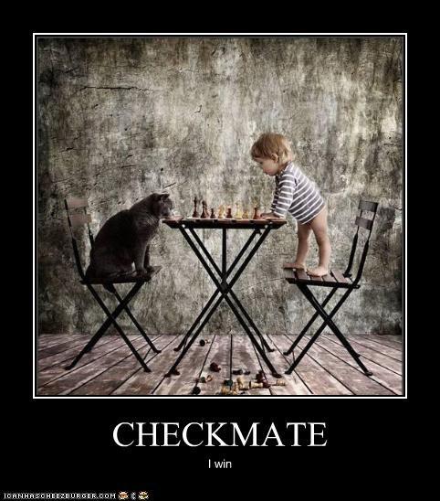 CHECKMATE I win