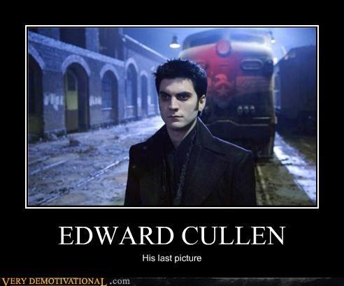 EDWARD CULLEN His last picture