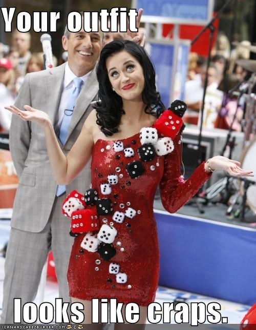 singers dice fashion katy perry lolz outfit - 4068643840