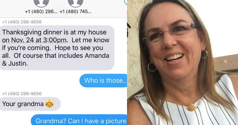 Grandma accidentally texts a dinner invitation to the wrong number, and the meetup that ensues will warm your heart.