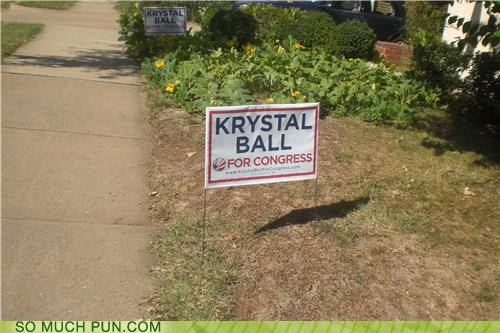 ball candidate Congress crystal crystal ball foresight future Krystal last name name politics