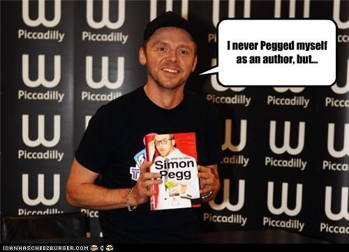 actor celeb funny Simon Pegg - 4070493952
