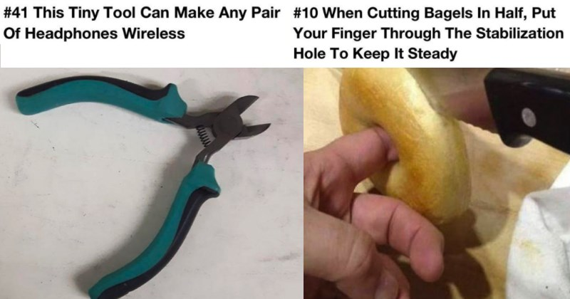 questionable life hacks