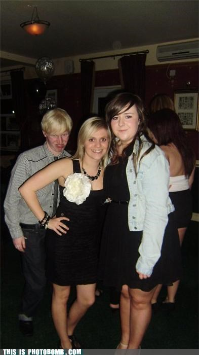 blond derp formal hurrr photobomb what an ass - 4072032256