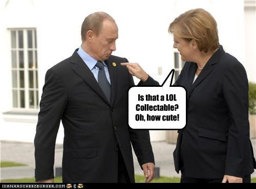 angela merkel cheezburger collectable Germany in jokes russia self referential Vladimir Putin vladurday - 4072050688