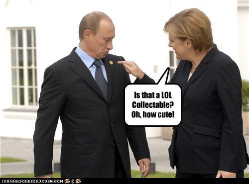 angela merkel cheezburger Germany russia self referential Vladimir Putin vladurday - 4072050688