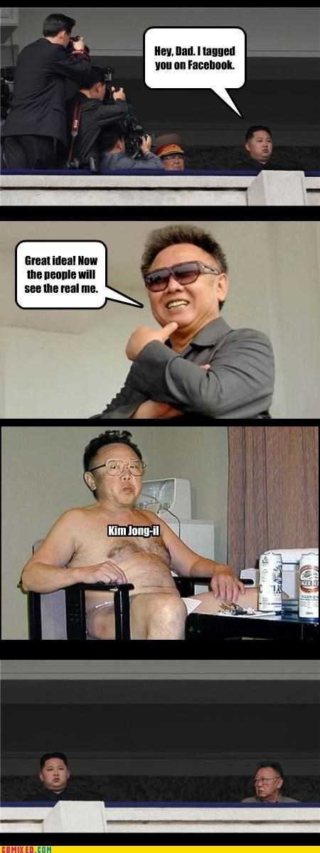 best korea facebook incriminating Kim Jong-Il kim jong-un North Korea photos politics shame the internets