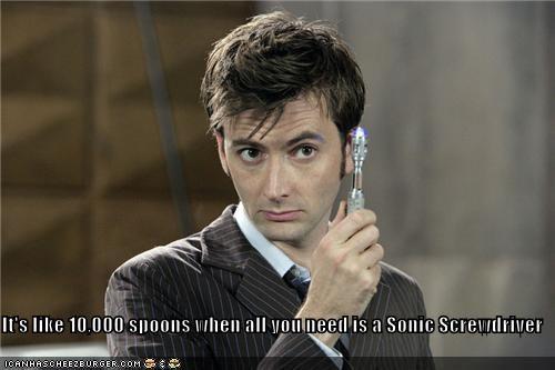 David Tennant doctor who lolz sci fi TV - 4073976576