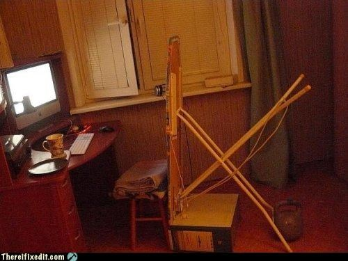 chair,comfort,ingenuity,ironing board