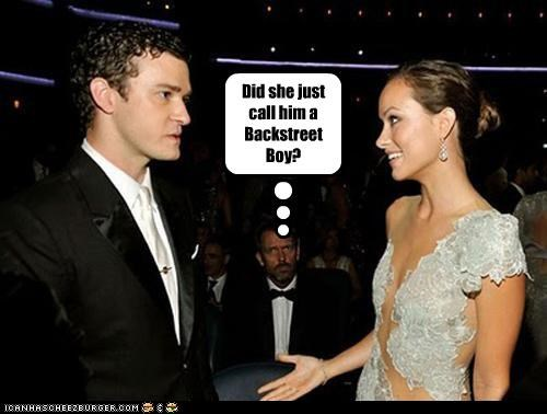 backstreet boys hugh laurie Justin Timberlake lolz nsync olivia wilde photobomb - 4075534848